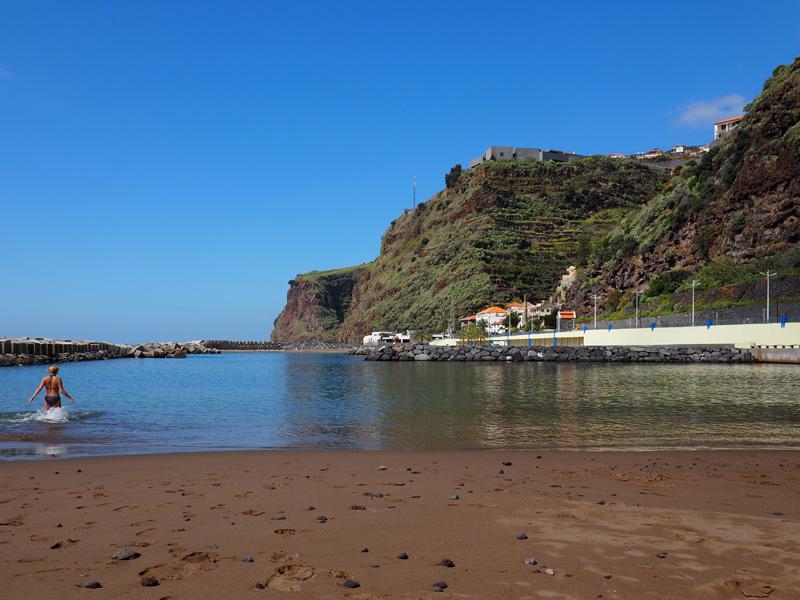 Madeira - Calheta Sandstrand