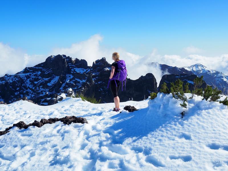 Madeira - Wandern Pico Ruivo