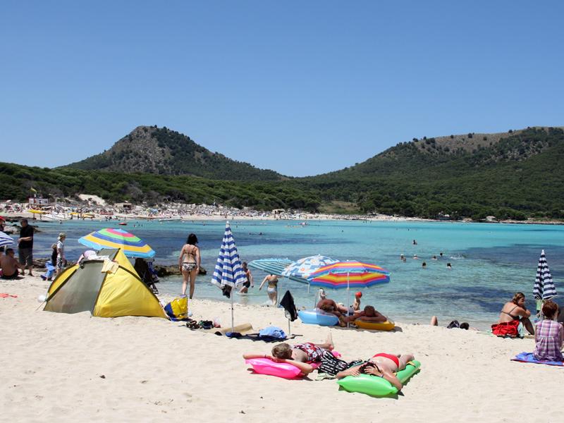 Mallorca-Strand-Cala-Ratjada