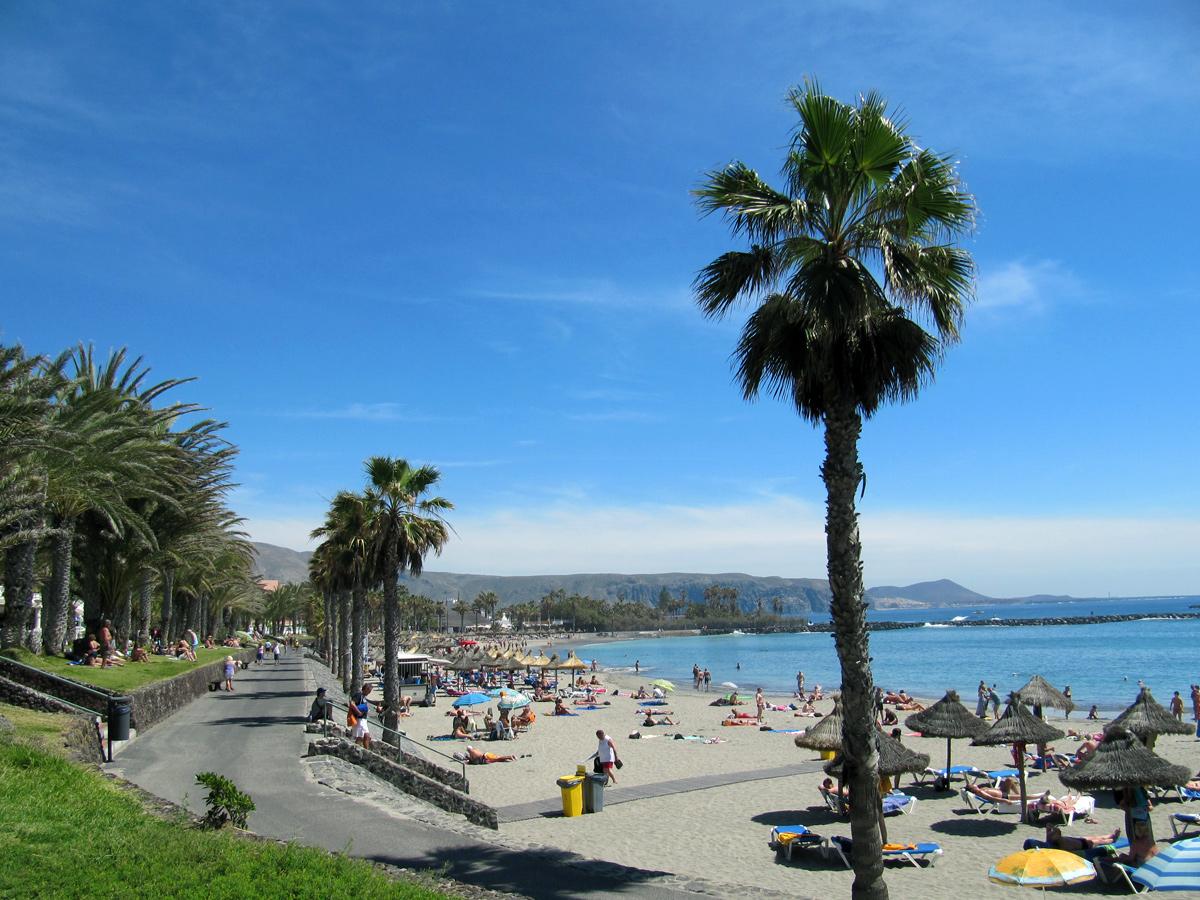 Playa de las-Americas - Strandpromenade