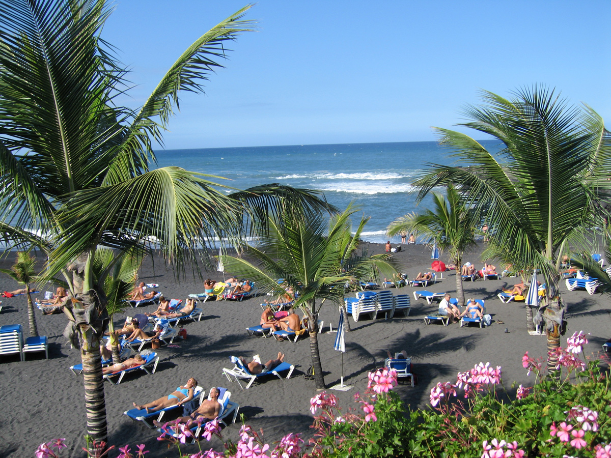 Puerto de la Cruz - Strand Playa Jardin