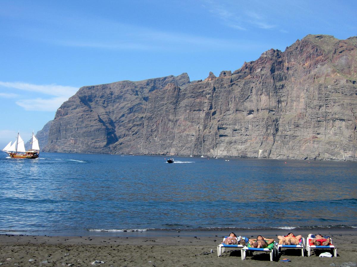 Teneriffa - Los Gigantes Strand
