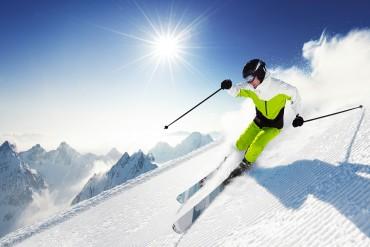 Winterurlaub - Skifahren