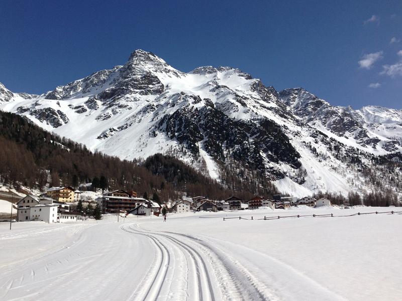 Winterurlaub - Langlaufen in Suedtirol