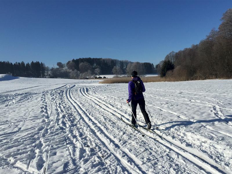 Winterurlaub - Langlaufen