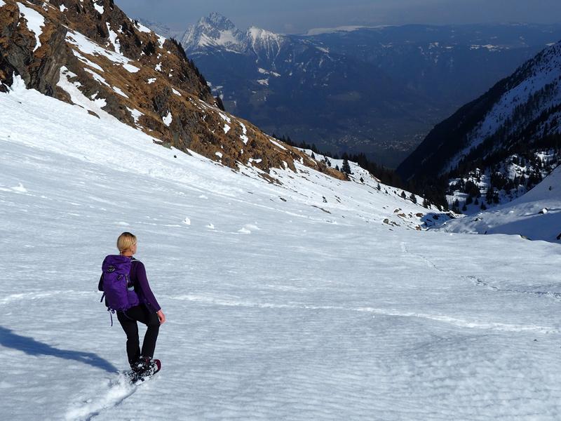 Winterurlaub - Schneeschuhwandern