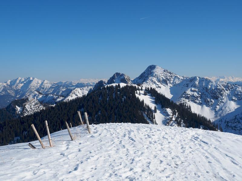 Winterurlaub - Tegernsee Winterwanderung