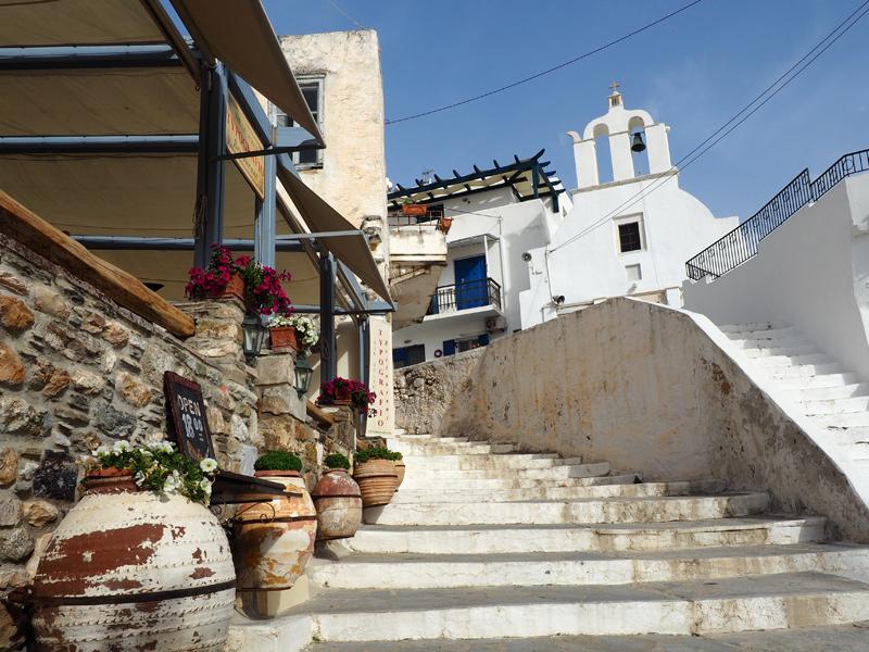 Naxos - die Altstadt in Chora