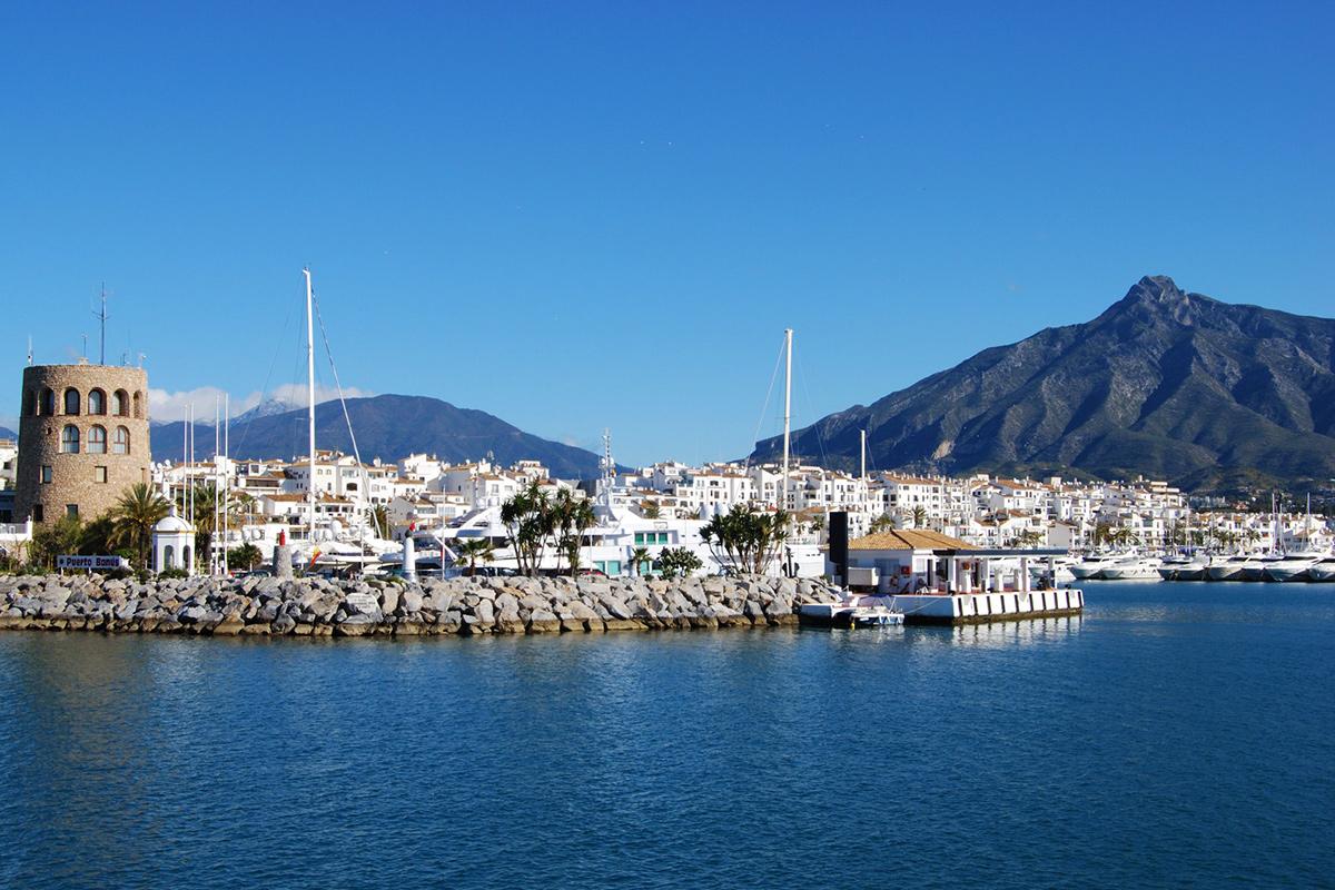 Costa del Sol - Marbella Hafen