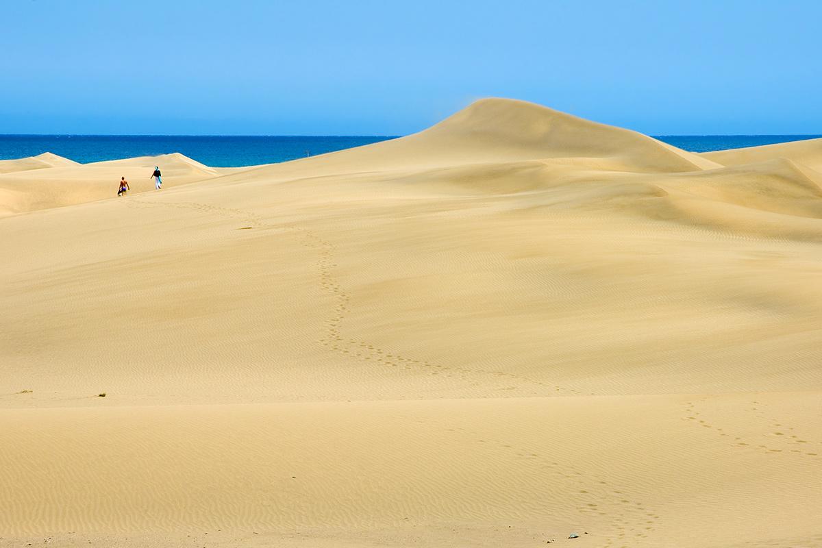 Gran Canaria - Dünen von Maspalomas
