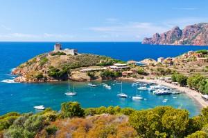 Korsika - Girolata Bay
