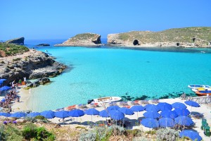 Malta/Comino - Blue Lagoon Beach