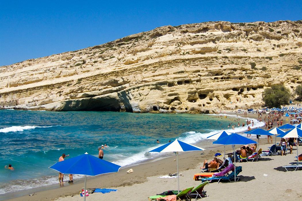 Kreta - Matala Strand