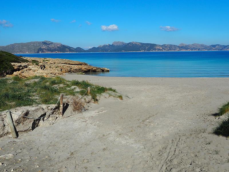 Mallorca - Strand auf der Halbinsel La Victoria