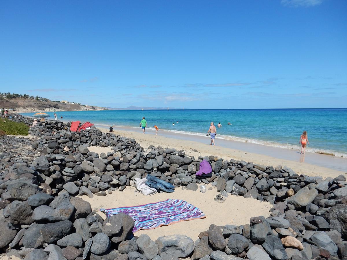 Der wunderschöne Strand von Jandia auf Fuerteventura