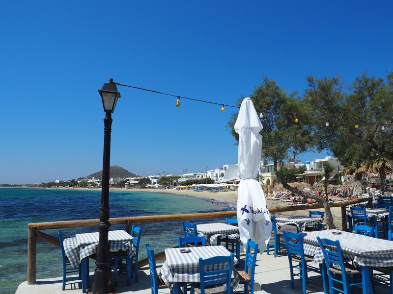 Naxos - Taverne in Agia Anna