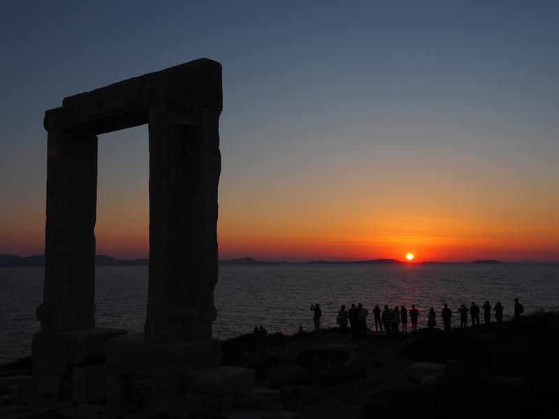 Naxos - Portrara in Chora