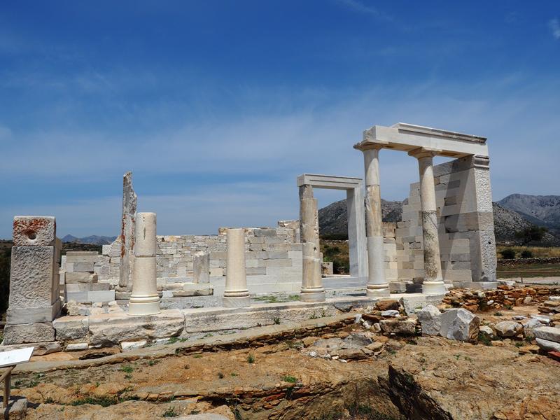Naxos - Demeter-Tempel in Sangri