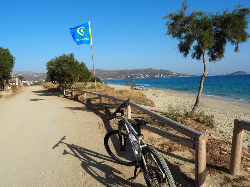 Naxos Radfahren