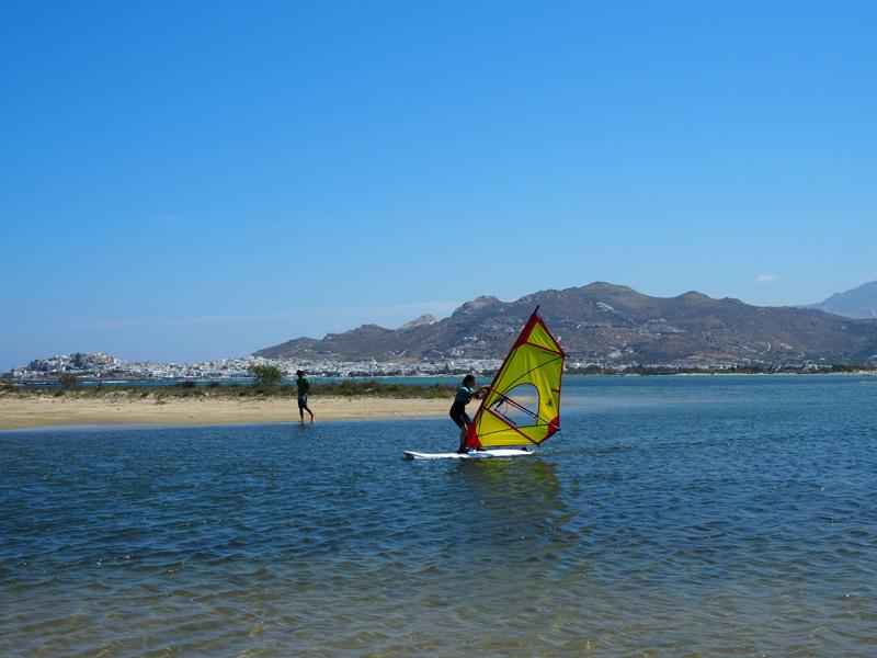 Naxos Windsurfen