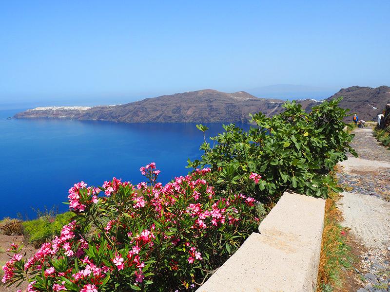 Santorin, Wandern Fira - Oia