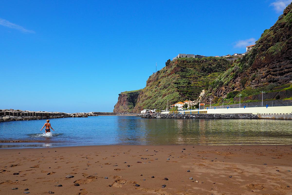 Madeira - Calheta Beach