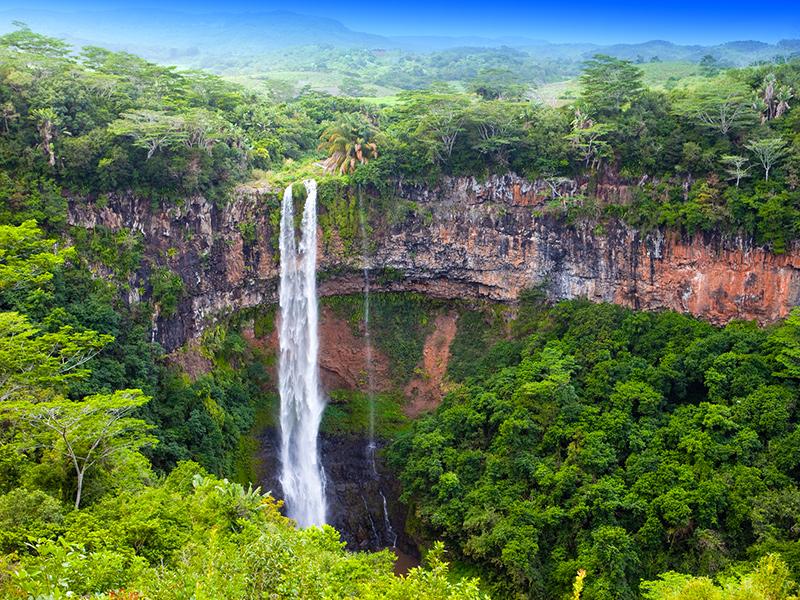 Mauritius - Tamarin-Falls