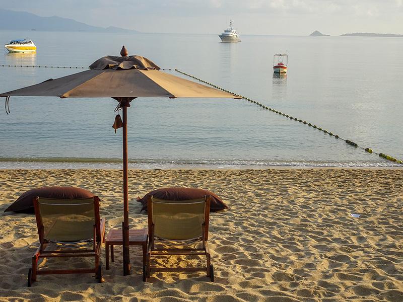 Koh Samui Hotel Anantara Bophut Resort - Strand