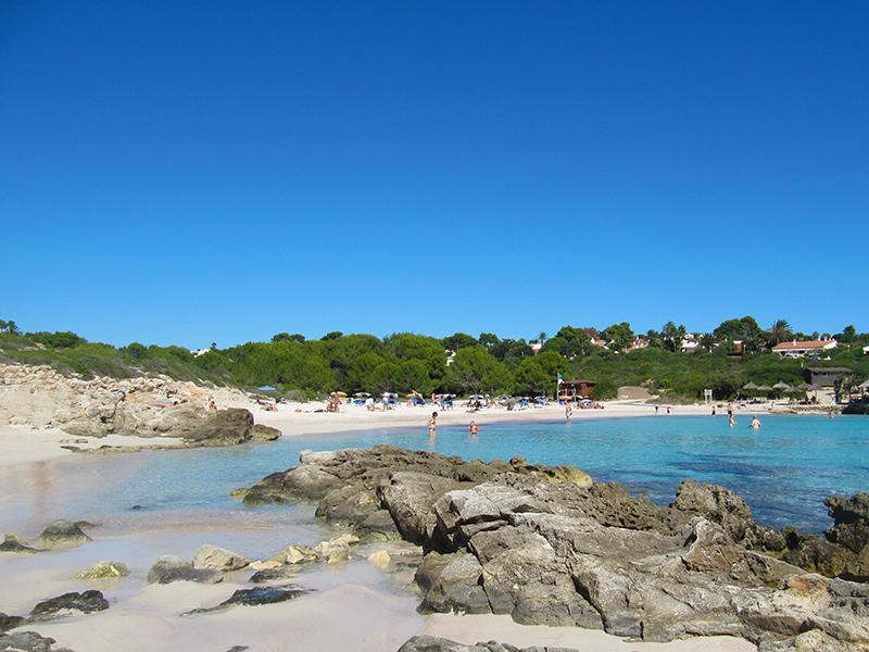 Menorca - Playa Binibeca