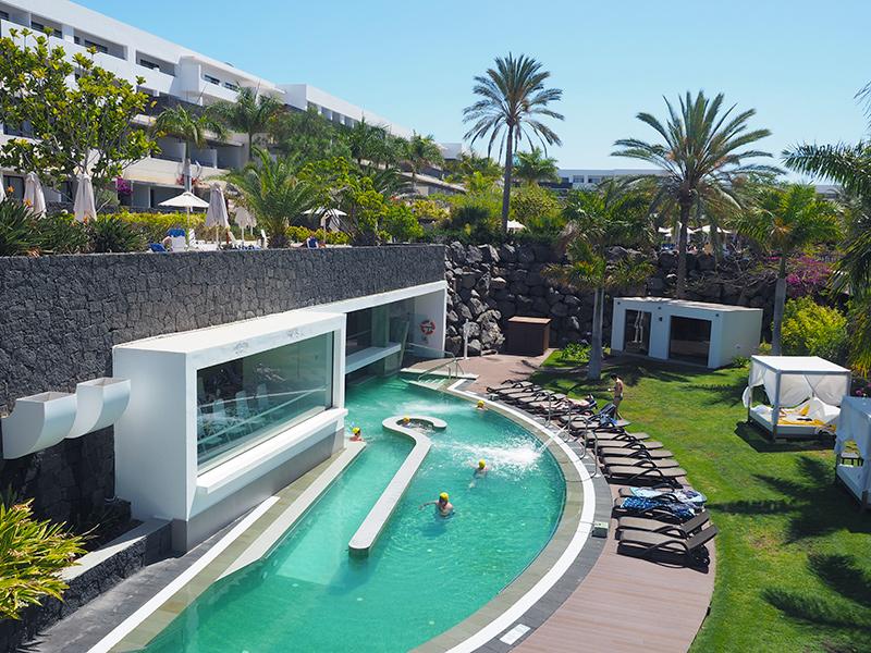 Lanzarote - Hotel Costa Calero, Parkanlage