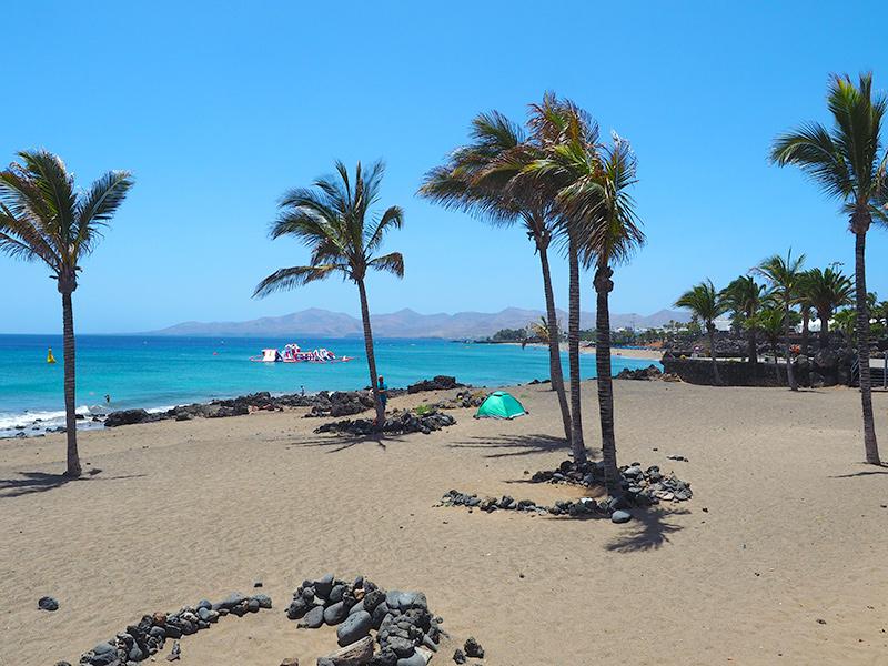 Lanzarote - Puerto del Carmen, Strand