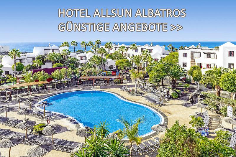 Hotel Allsun Albatros - Lanzarote