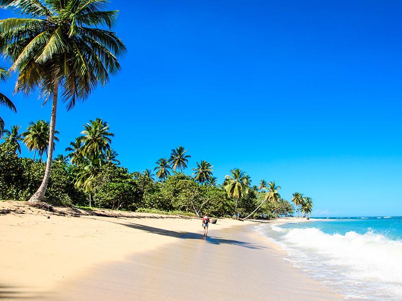Langzeiturlaub Karibik, Strand