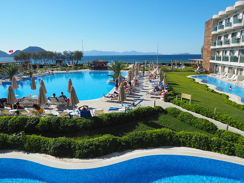 Langzeiturlaub Türkische Riviera, Hotel