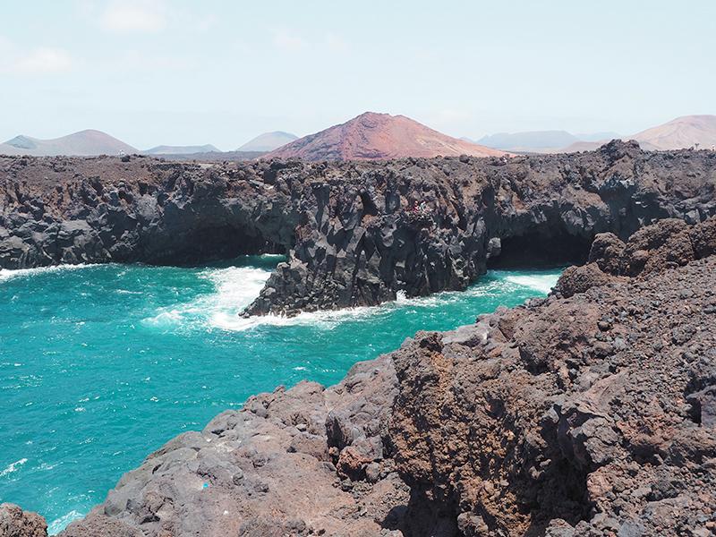 Lanzarote - Küste in Los Hervideros