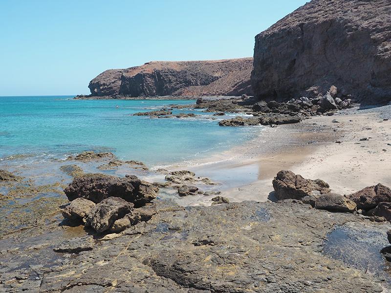 Lanzarote - Strand südlich von Playa Quemada
