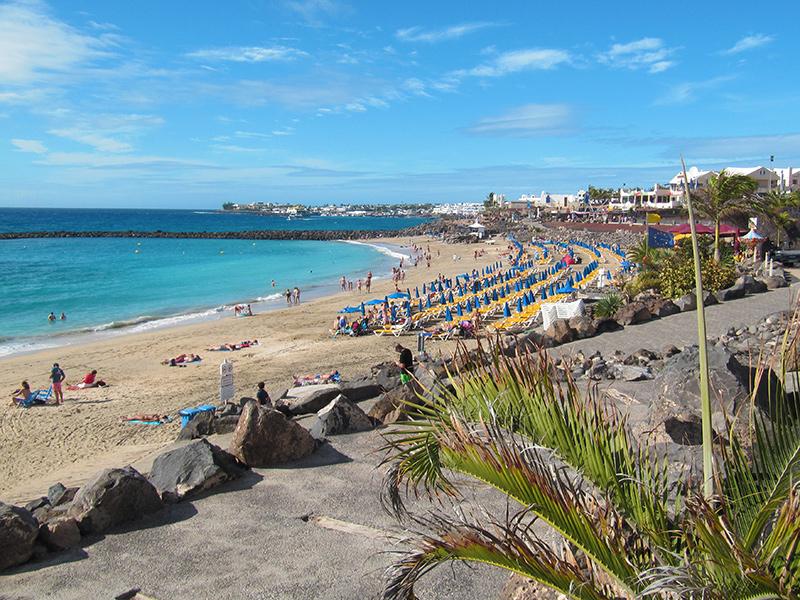Playa Dorada in Playa Blanca - Lanzarote