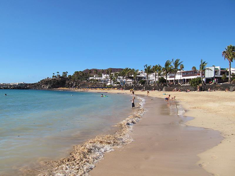 Playa Flamingo in Playa Blanca - Lanzarote