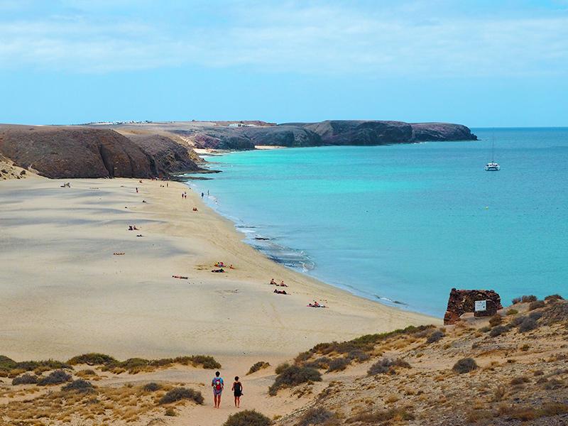Playa Mujeres - Playas de Papagayo, Lanzarote