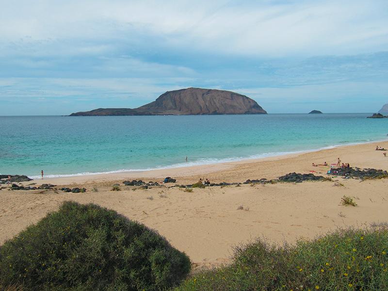 Playa de las Conchas - La Graciosa