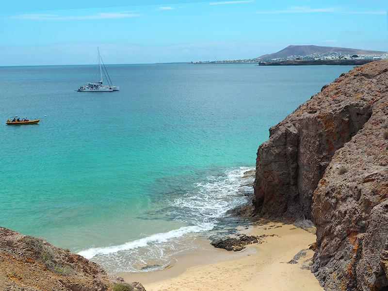 Playas de Papagayo, Bucht