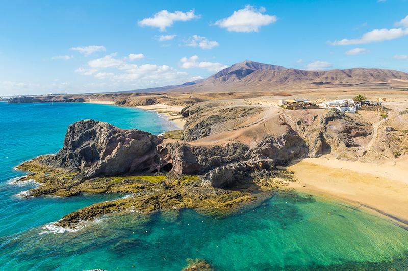 Playas de Papagayo - Lanzarote