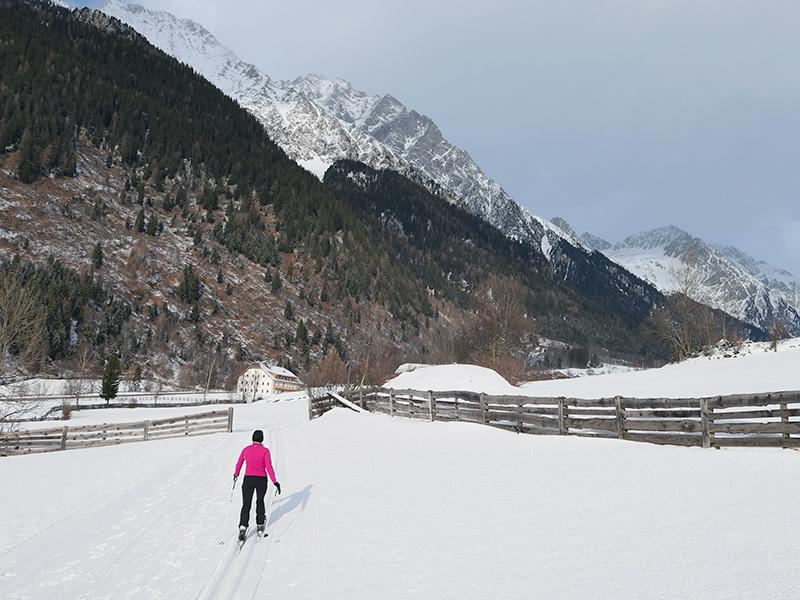 Südtirol - Langlaufen im Antholzer Lal
