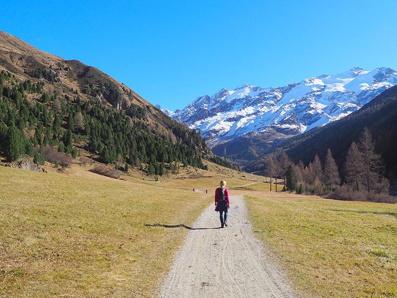 Südtirol - Langtauferer Tal
