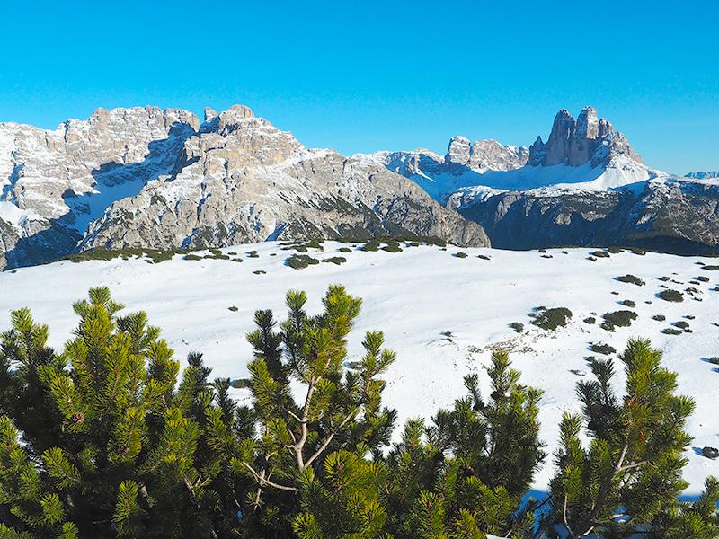 Südtirol - Stundelkopf im Winter