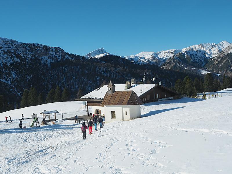 Südtirol - Schneeschuwandern auf den Strudelkopf